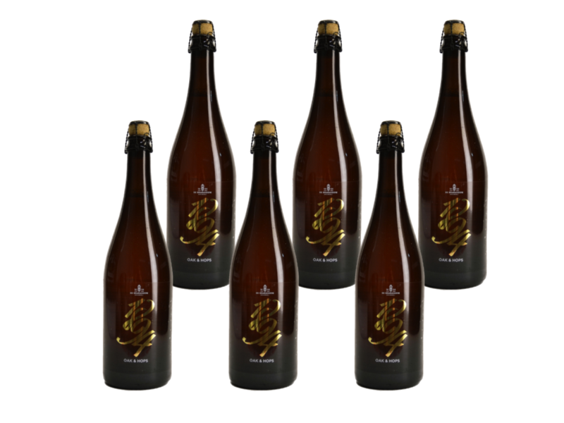 6set // 1894 - Oak and Hops - 75cl - Set van 6
