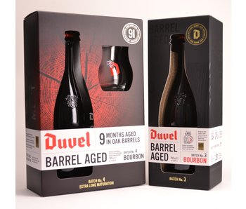 Duvel Barrel Aged set (batch 3 & 4)