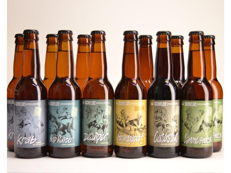 Bierbox // Scheldebrouwerij Selection Beer Box