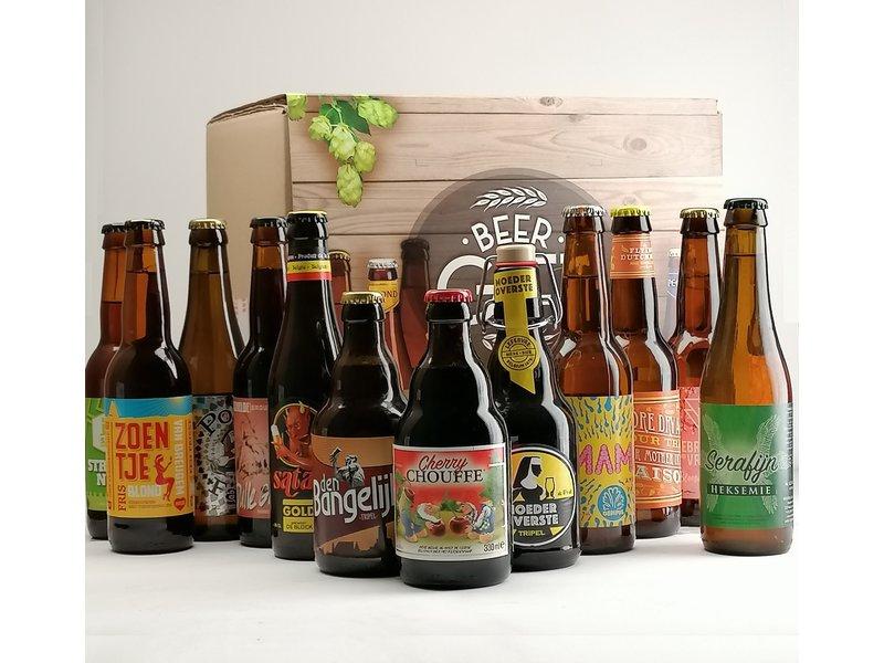Bierbox + Sleeve // Moederdag Biergeschenkdoos