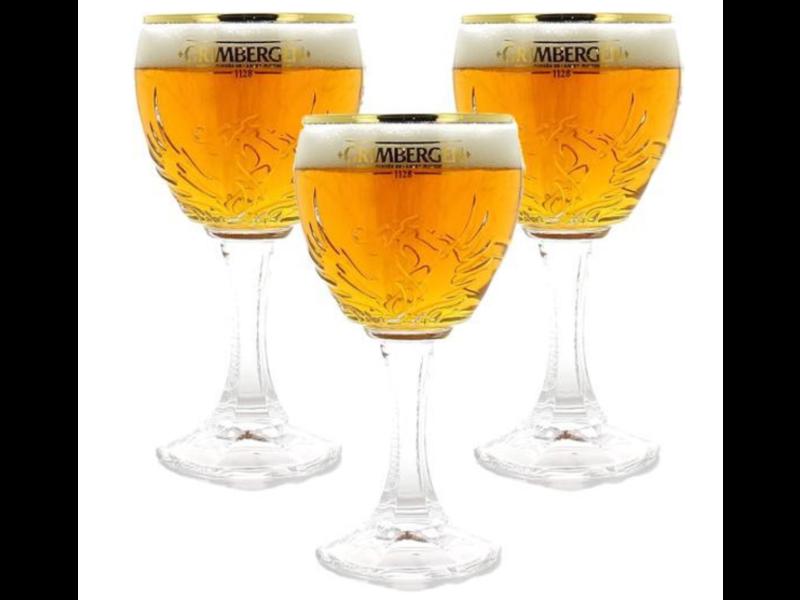 MAGAZIJN // Grimbergen Bierglazen - 33cl - Set van 3 stuks