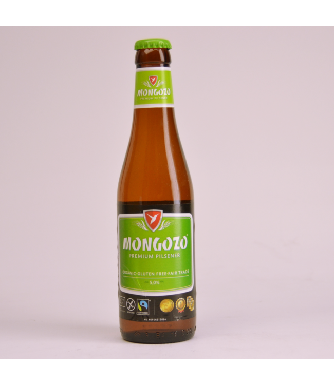 Mongozo Premium Pilsener - 33cl