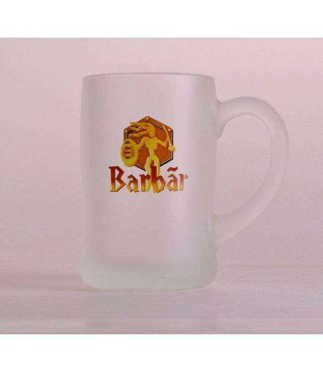 GLAS l-------l Barbar Bierglas - 33cl