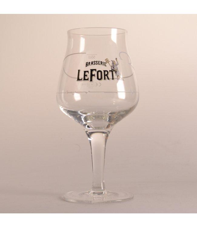 GLAS l-------l Brasserie Lefort Bierglas - 33cl