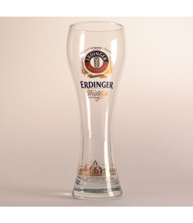 50cl glas  l-------l Erdinger Bierglas - 50cl