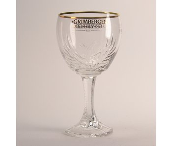 Grimbergen Beer Glass - 33cl (new)