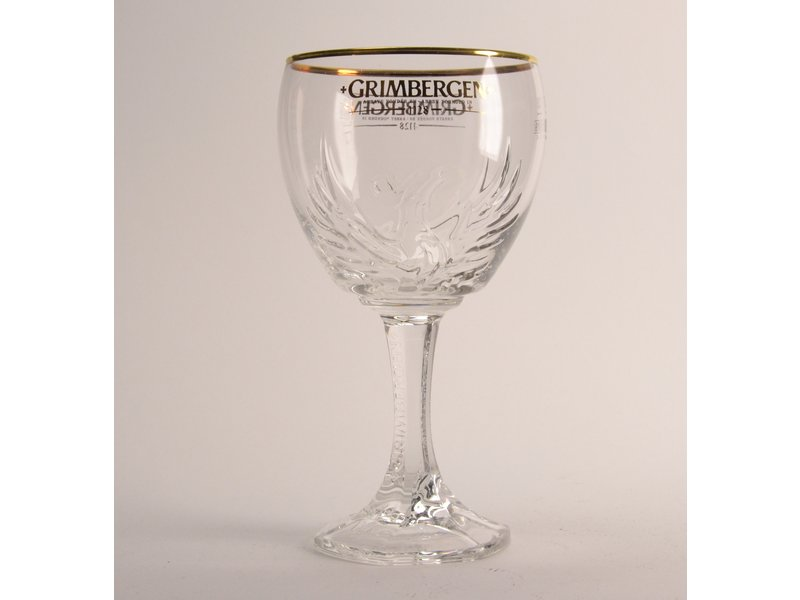 MAGAZIJN // Grimbergen Beer Glass (new)