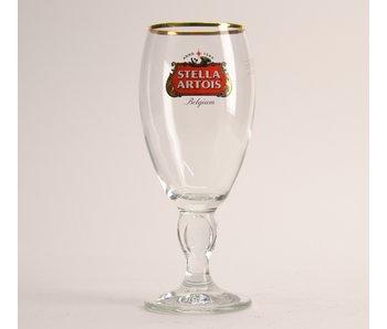 Stella Artois op voet bierglas - 25cl