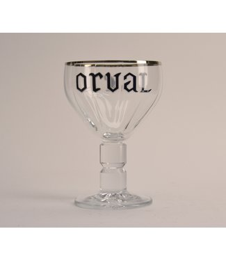 GLAS l-------l Trappist Orval Beer Glass - 33cl