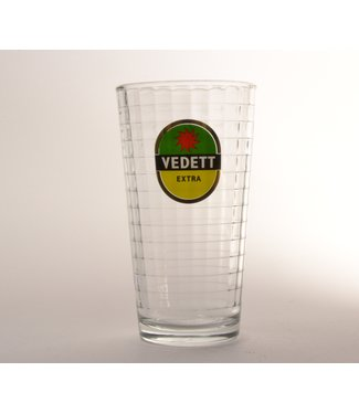 GLAS l-------l Vedett Cup Beer Glass - 33cl
