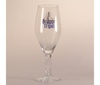 Brugge Tripel Bierglas - 33cl