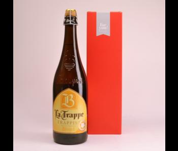 La Trappe Blond  Biergeschenk (75cl + koker)