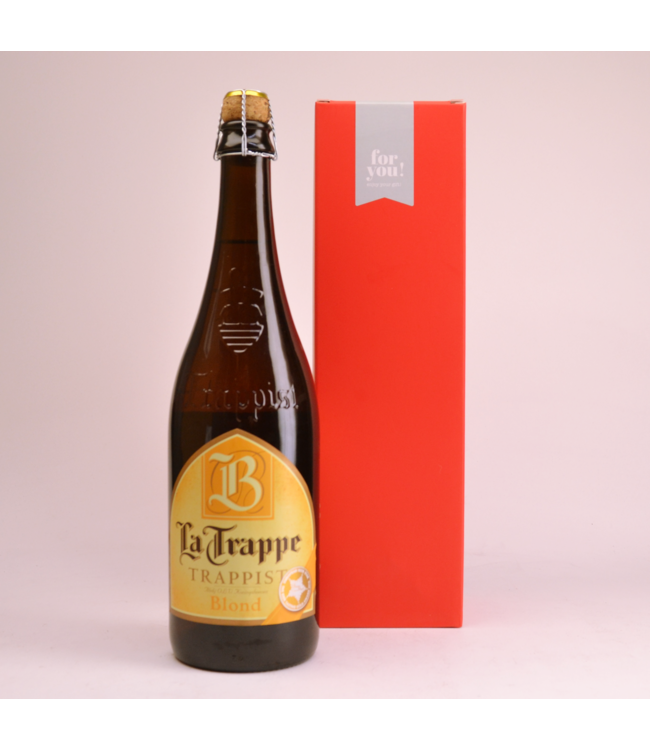La Trappe Blond Beer Gift (75cl + Cilinder)