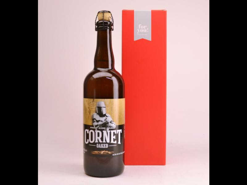 Cornet Oaked Tripel  Bier Geschenke (75cl + Kocher)
