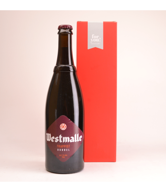 Westmalle Trappist Double  Beer Gift (75cl + Cilinder)