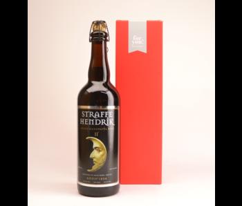 Straffe Hendrik 11 Quadrupel  Beer Gift (75cl + Cilinder)