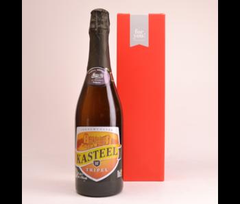 Kasteelbier Tripel  Beer Gift (75cl + Cilinder)