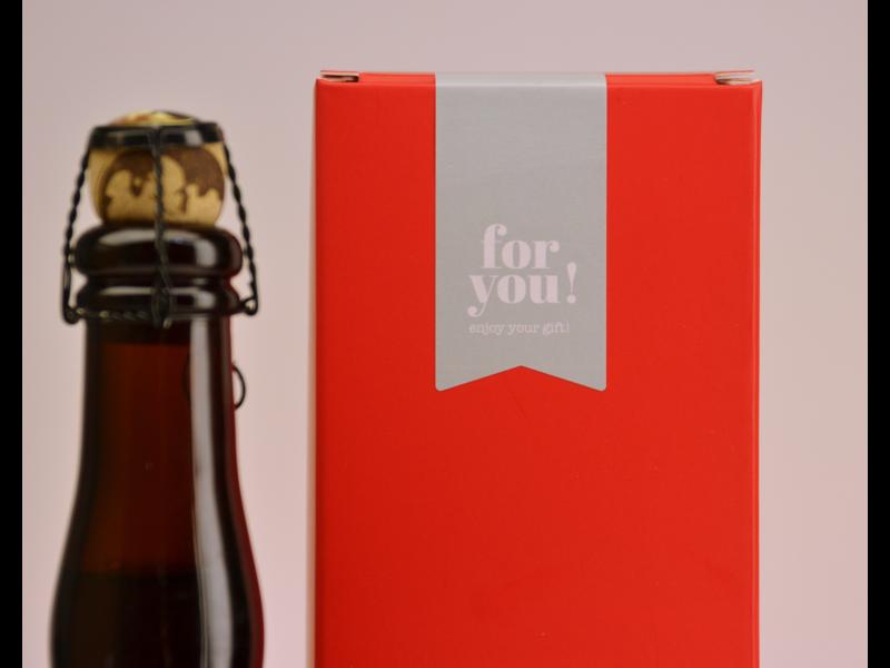 MAGAZIJN // Kasteelbier Donker  Biergeschenk (75cl + koker)