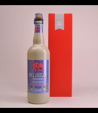 RODE KOKER l-------l Delirium Tremens  Beer Gift (75cl + Cilinder)