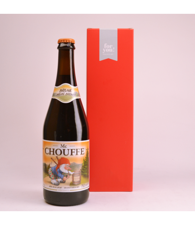Mc Chouffe  Beer Gift (75cl + Cilinder)