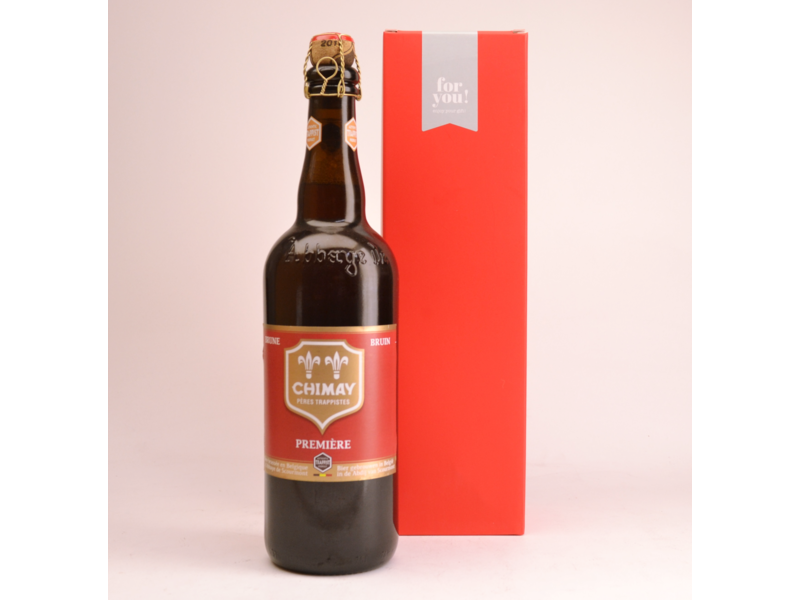 Chimay Rot Premiere  Bier Geschenke (75cl + Kocher)