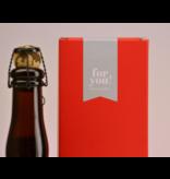 Chimay Wit Cinq Cents  Biergeschenk (75cl + koker)