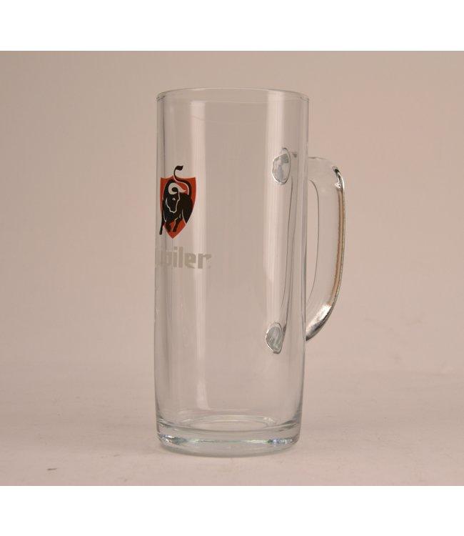 Jupiler Beer Glass (met Oor) - 50cl.