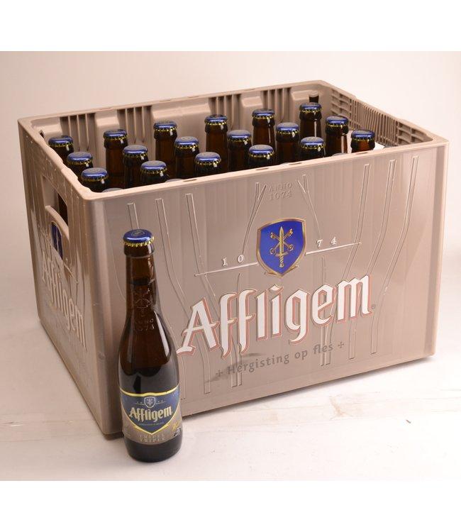 24 FLESSEN    l-------l Affligem Tripel Bierkorting (-10%)