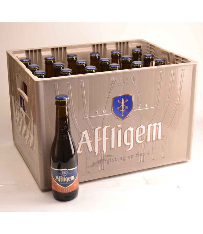 24 FLESSEN    l-------l Affligem Dubbel Bierkorting (-10%)