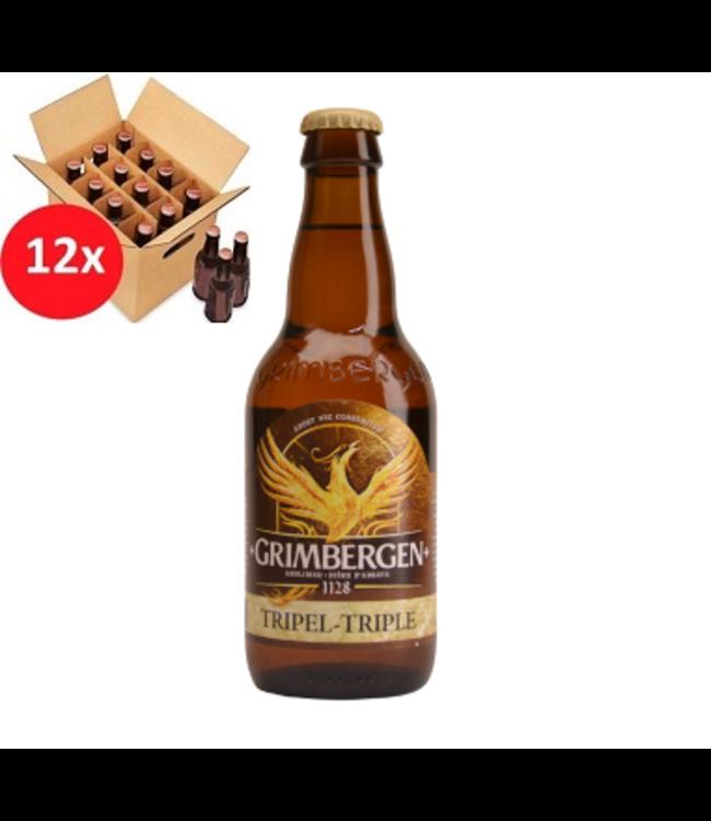 SET VAN 12    l-------l Grimbergen Tripel 12 Pack