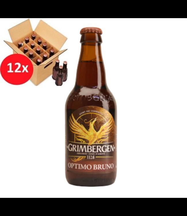 SET VAN 12    l-------l Grimbergen Optimo Bruno 12 Pack