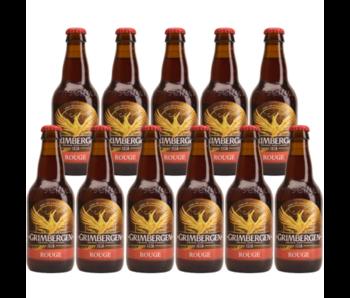 Grimbergen Rouge 33cl - Set of 11 bottles