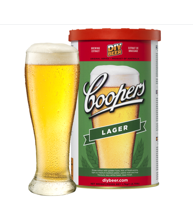 Coopers Extract Lager - 1.7kg