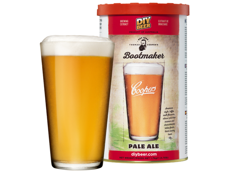 Coopers Extract Bootmaker Pale Ale