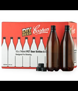 Coopers PET Flessen (15 stukken)