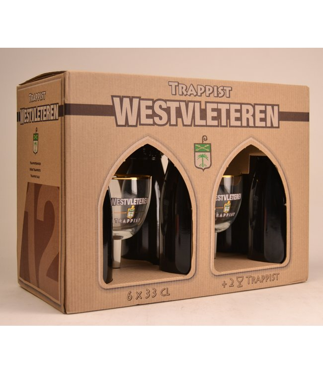 Westvleteren Beer Gift (6x33cl + 2xgl)