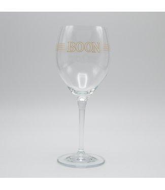 Kriek Boon Beer Glass 30cl on Foot