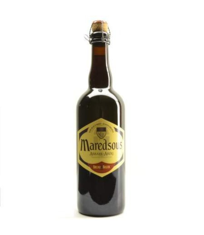 75cl   l-------l Maredsous Brown - 75cl