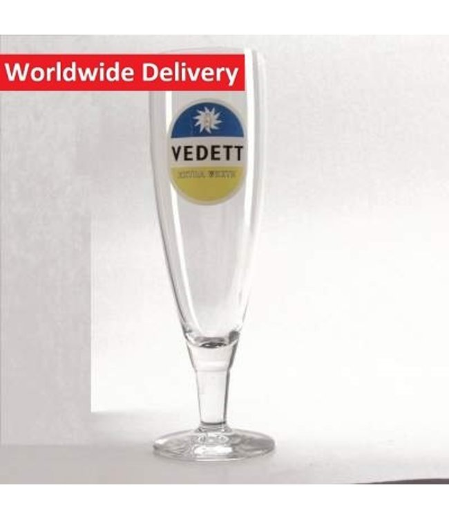 Vedett Extra Beer Glass - 33cl
