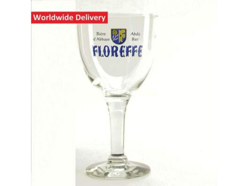 Floreffe Bierglas op voet - 33cl