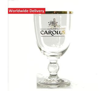 Gouden Carolus Beer Glass - 25cl