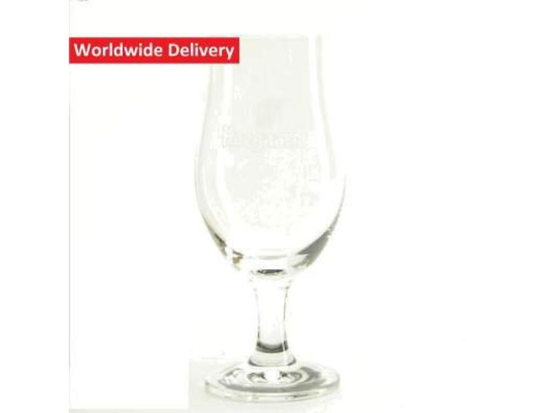 Hoegaarden On Foot Beer Glass