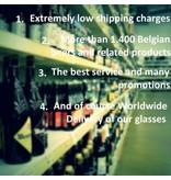 Hoegaarden zu Fuss Bierglas