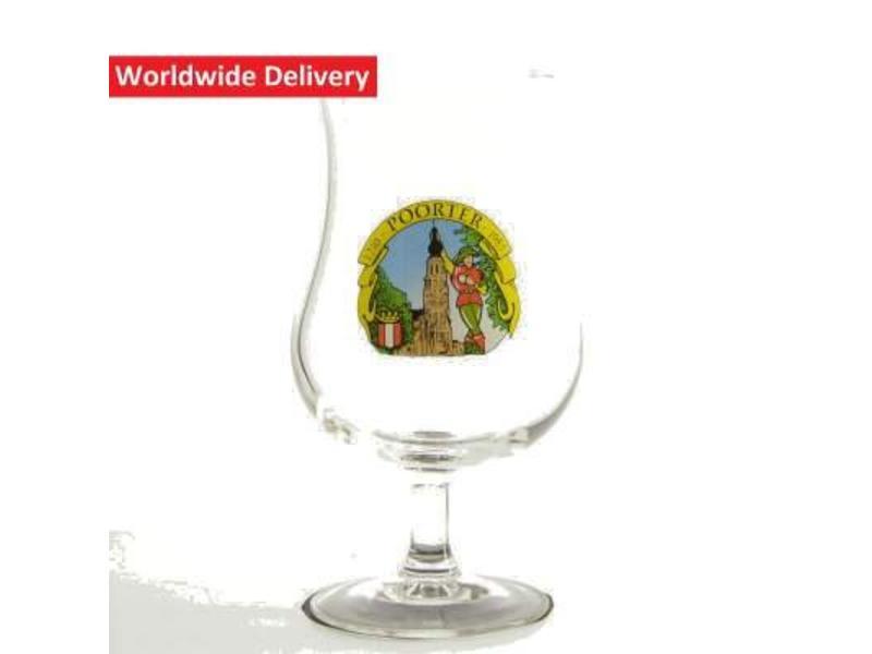 Hoogstraats Poorterbier Beer Glass