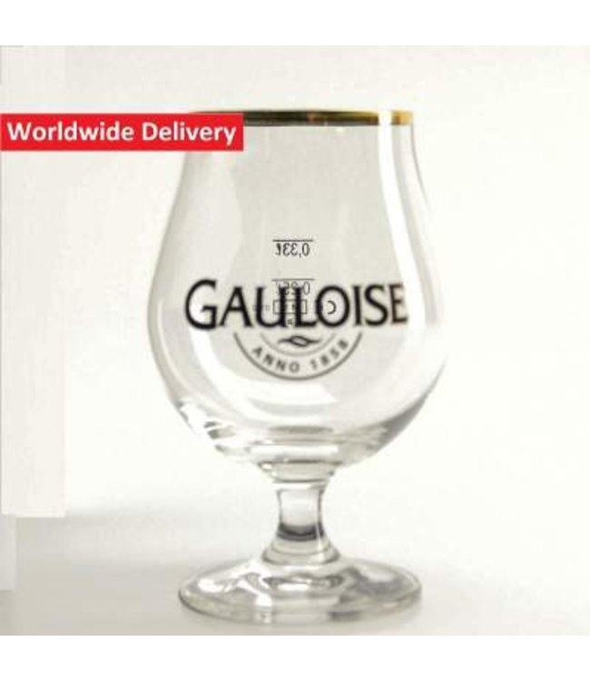 GLAS l-------l La Gauloise Bierglas - 33cl