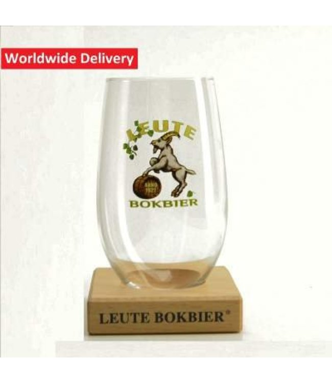 Leute Bokbier Beer Glass - 25cl