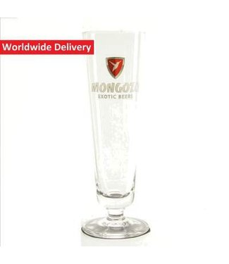 GLAS l-------l Mongozo Beer Glass - 20cl