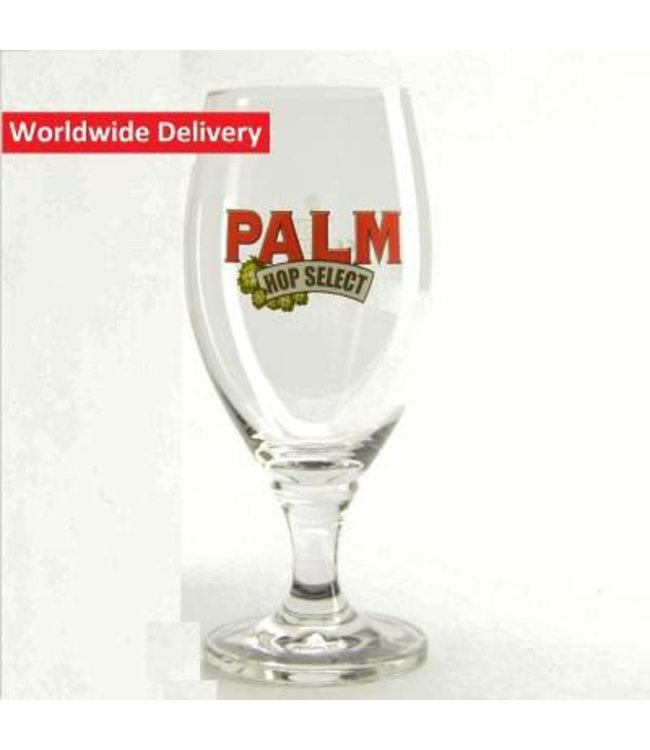 Palm Hop Select Beer Glass - 33cl