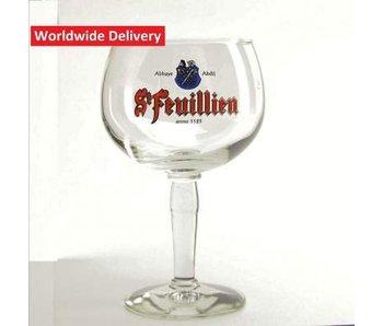 St Feuillien Beer Glass - 25cl
