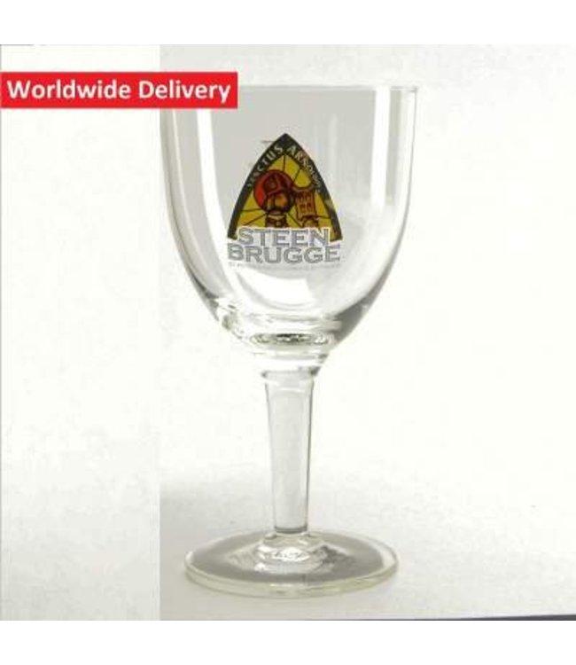 33cl glas    l-------l Steenbrugge Bierglas - 33cl